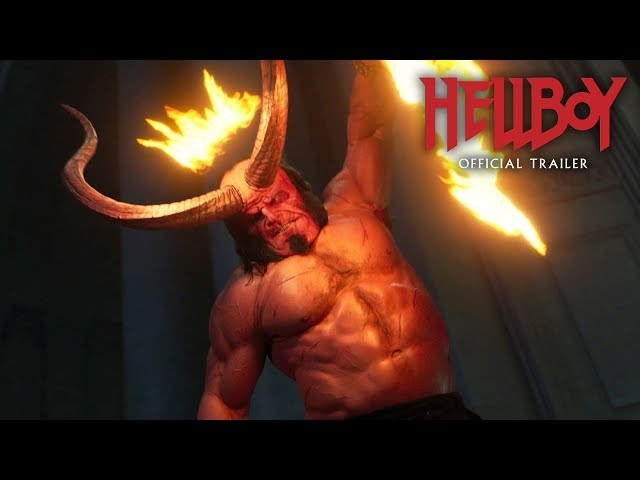 "Hellboy (2019 Movie) New Trailer ""Red Band"" - David Harbour, Milla Jovovich, Ian McShane"