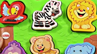 Fisher-Price - Zoo Animal Puzzle - Laugh & Learn - DLB27 / CGM42 - MD Toys