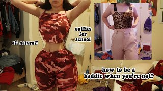 cute & cheap baddie outfits for highschool 2019 (freshman)