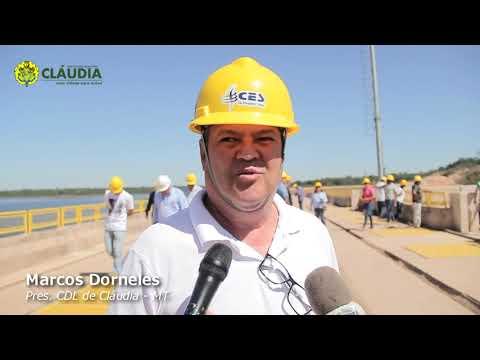 Visita técnica a UHE Sinop, proporciona oportunidade esclarecimento