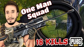 AGRESİF BİR OYUN! 18 KILLS - ( PUBG Mobile Gameplay )