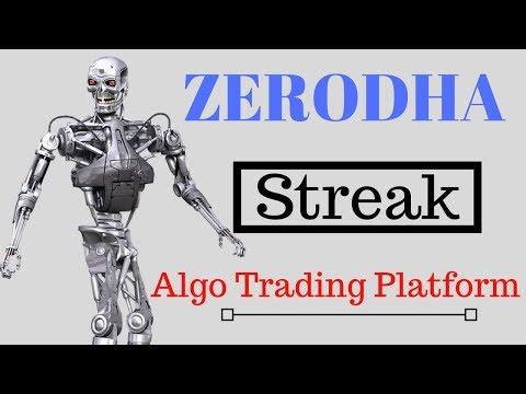 Zerodha Streak Algo Trading Platform :-Any One Can Make Algo Within minutes