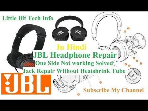 JBL and any type of headphone repair, full guide and jack repair without heat shrink tube