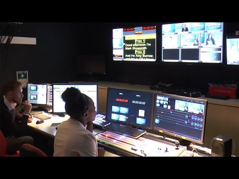 Centre for Broadcasting & Journalism – Newsday Experience