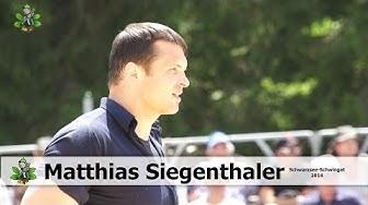 Matthias Siegenthaler am Schwarzsee - Schwinget 2014