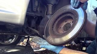 2008 Subaru Legacy front Brakes