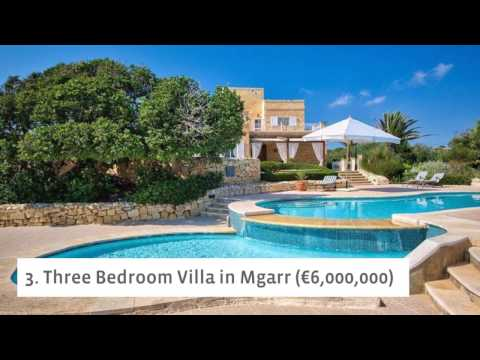 10 Increadible Houses In Malta That Will Make You Dream For Summer