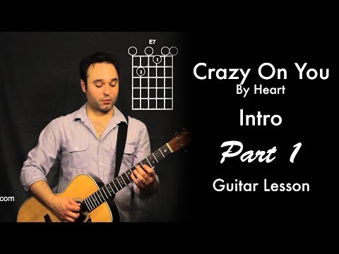 Crazy On You (Intro) by Heart Tutorial   Part 1