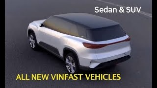 VINFAST Sedan and SUV Introduction -  First Cars of Vietnamese Design by Pininfarina