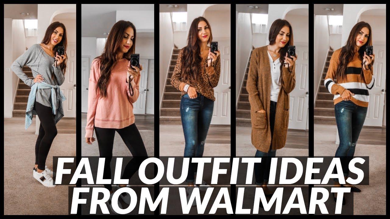 [VIDEO] - 7 FALL OUTFITS FROM WALMART | FALL STYLE HAUL 2
