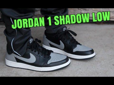 Nike Air Jordan 1 Retro Low Shadow ON FEET! - YouTube 692ba609a7