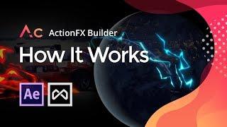 ActionFx Générateur de Tutoriel Rapide | Gratuit After Effects Cartoon FX Plugin | Motion factory