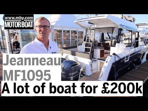 A Lot Of Boat For £200,000 | Jeanneau Merry Fisher 1095 Review | Motor Boat & Yachting