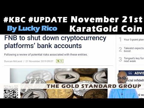 First National Bank #FNB Flexing On #Crypto #KBC #KaratBars #LuckyRico