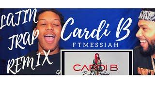 Cardi B - Bodak Yellow Latin Trap Mix feat. Messiah [Official Audio]  | REACTION