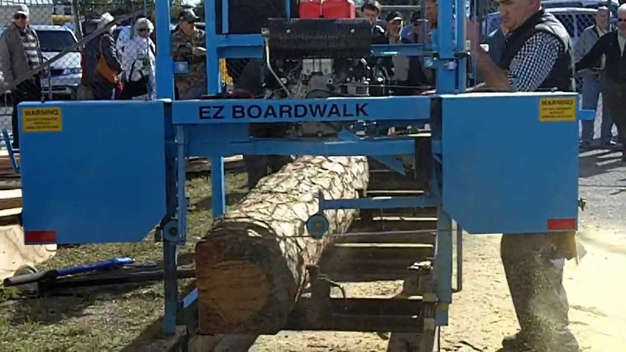 Ez Boardwalk Sawmill For Sale