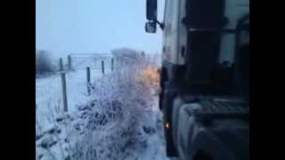 ice road trucking in Scotland