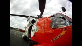 Coast Guard Medevac on a GoPro