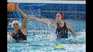 Orizzonte Catania vs SIS Roma - Italian Women Waterpolo League 2021