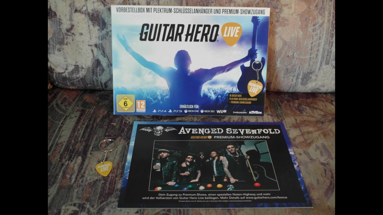 how to play guitar hero live on oc