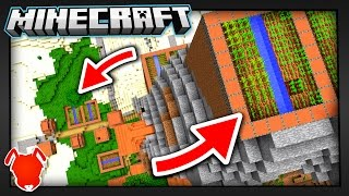 WHAT HAPPENED to these MINECRAFT VILLAGES?