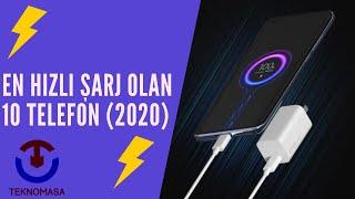 En Hızlı Şarj Olan 10 Telefon (2021)