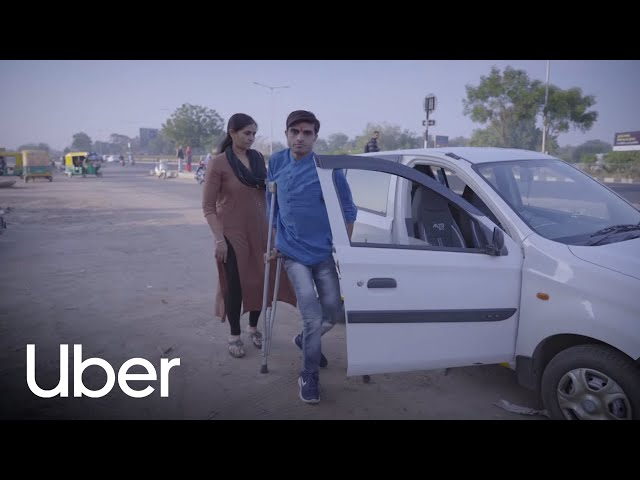 Disability Is Only a Matter of Perception, Proves Uber Driver Partner Mukesh Bharati | Uber