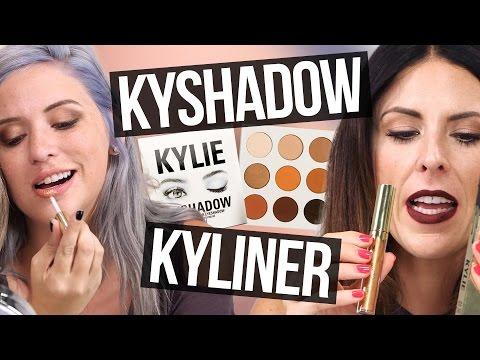 Unboxing Kylie Jenner KYSHADOW, KYLINER, & BIRTHDAY MAKEUP (Beauty Break)