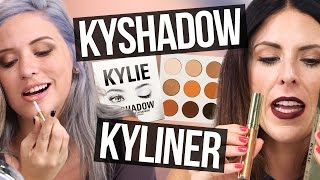 Unboxing Kylie Jenner KYSHADOW, KYLINER, & BIRTHDAY MAKEUP (Beauty Break)