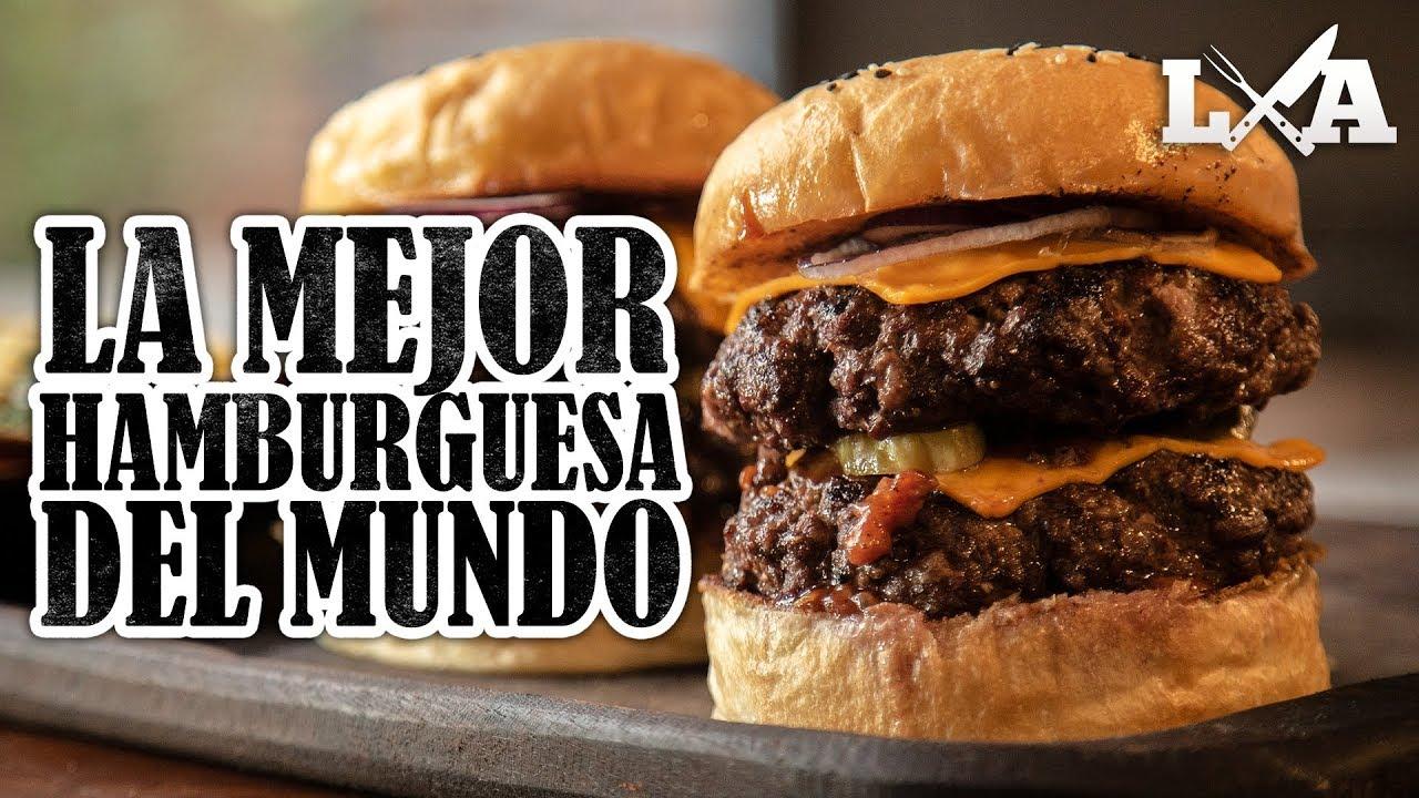 La Mejor Hamburguesa Del Mundo 4 Tipos De Carne Receta De Locos X El Asado