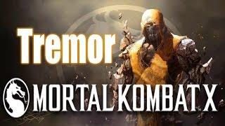 Прохождение Mortal Kombat X - Tremor Тремор - Человек-Глыба
