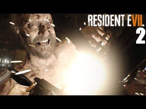 Resident Evil 7 Chainsaw Boss Battle 2 Father Jack Boss Fight