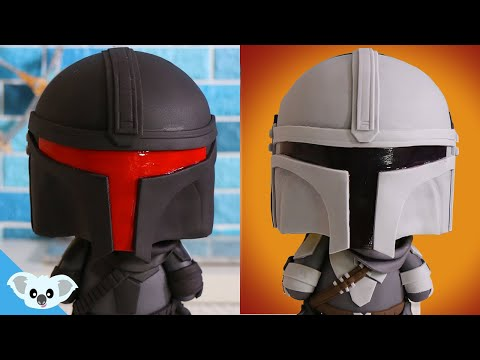 MANDALORIAN DOUBLE SIDED CAKE | Amazing STAR WARS Cake | Koalipops