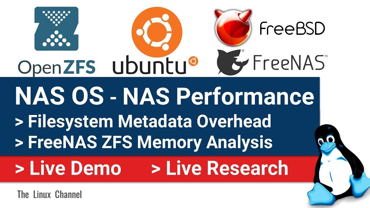0x1b2 NAS OS | OpenZFS | FreeNAS Memory Analysis | Filesystem Metadata  Overhead | NAS Performance