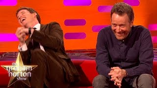 Eddie Redmayne Really Loves Bryan Cranston's Hilarious Vintage Dating Vids - The Graham Norton Show