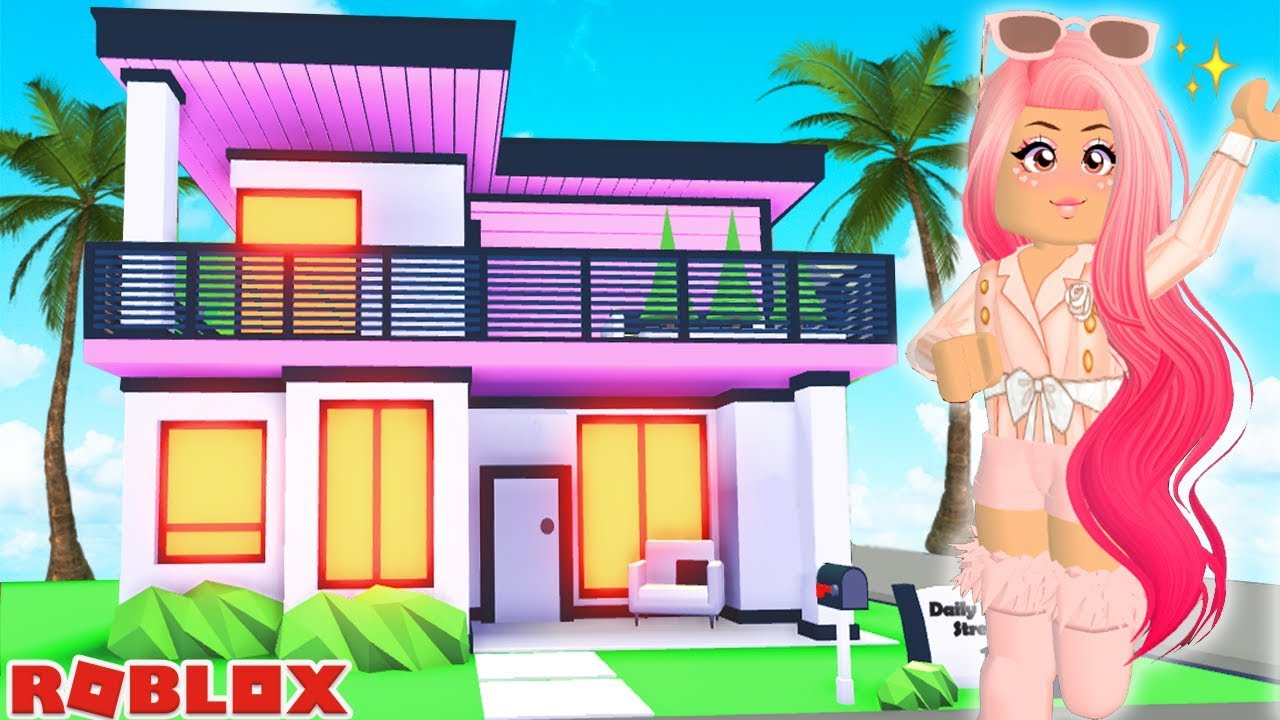 I Bought A Huge Celebrity Mansion In Roblox Brand New Celebrity