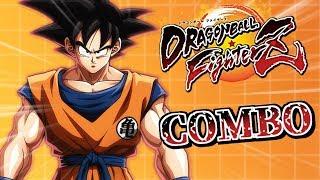 8/9実装! DBFZ ➤ 悟空 コンボ集 Base Goku Combos with input ドラゴンボールファイターズ