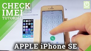 Gambar cover How to Check IMEI in APPLE iPhone SE - IMEI Info / Serial Number