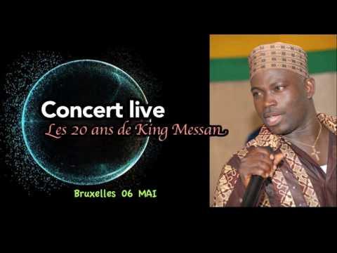 Concert live 20ans King Mensah à Bxl
