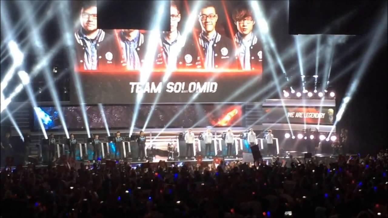 League Of Legends NA LCS Finals 2015 CLG Vs TSM Live @ MSG