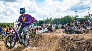 Would you win the epic battle of mopeds? | Red Bull Epic Rise 2017