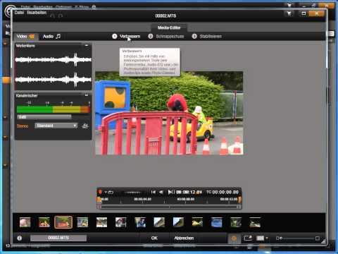 Videos bearbeiten in Avid studio und Pinnacle Studio