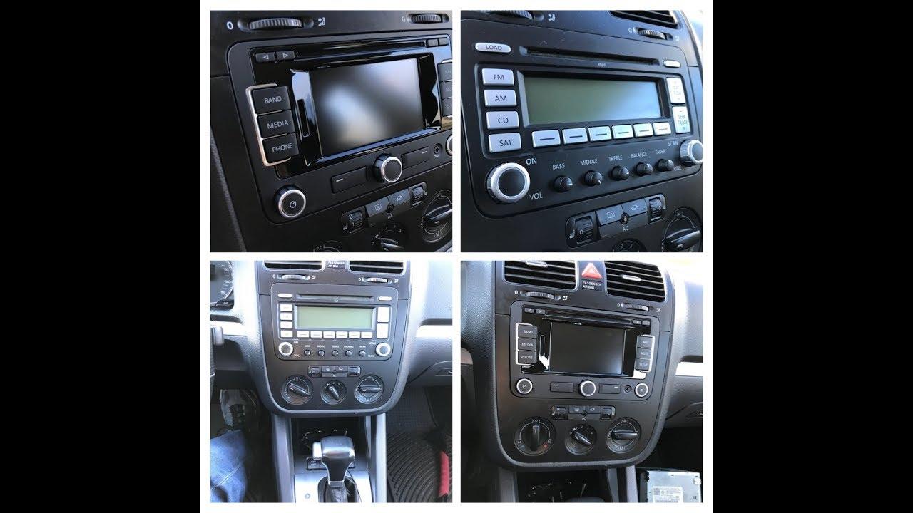 2008 Jetta SE RNS-315 install