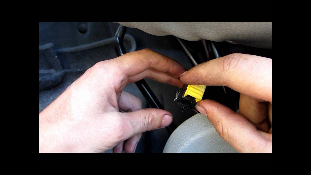 Tuto R 233 Parer Le Probl 232 Me Du Voyant D Airbag Kangoo How