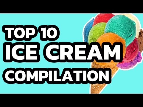 Ice Cream | Top 10 Ice Cream in the World / most oddly satisfying (the best of Ice Cream Rolls)