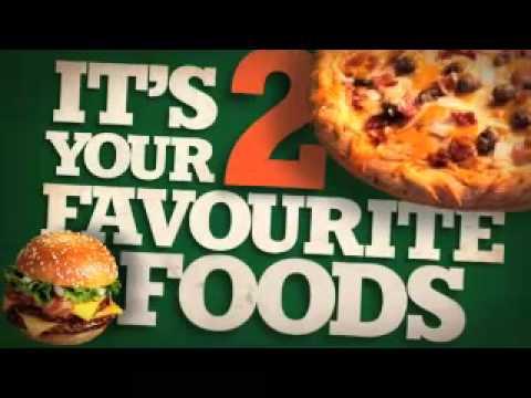 Delissio Bacon Cheeseburger Pizza Youtube