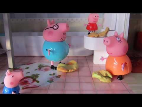 Peppa Pig está malita y contagia a Mamá Pig y Papá Pig | Videos de Peppa Pig en español
