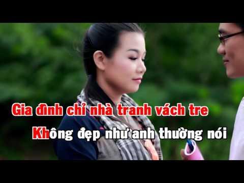 HD KARAOKE Chuyện Tình Nghèo   Dương Hồng Loan ft Huỳnh Nguyễn Công Bằng