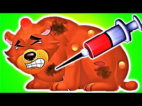 Fun Animal Care Kids Games - Animal Care and Treatment by Elephant -  Jungle Doctor Baby Games