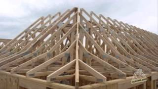 видео Стропильная система для скатных крыш